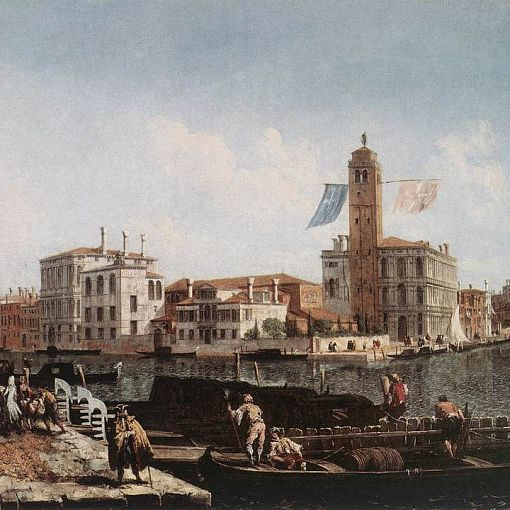 The Grand Canal with the Fishmarket
