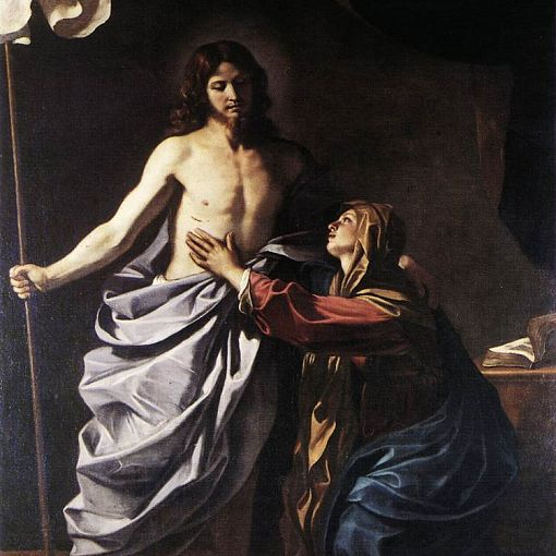 The Resurrected Christ Appears to the Virgin