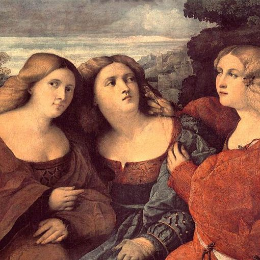 The Three Sisters (detail)