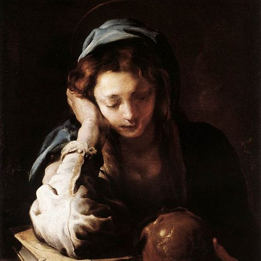 The Repentant St Mary Magdalene