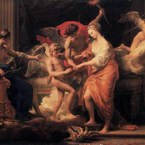 The Marriage of Cupid and Psyche