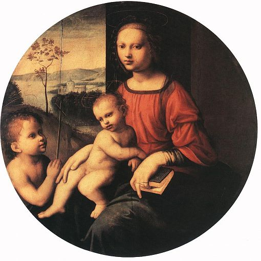 Virgin and Child with the Infant St John the Baptist 1