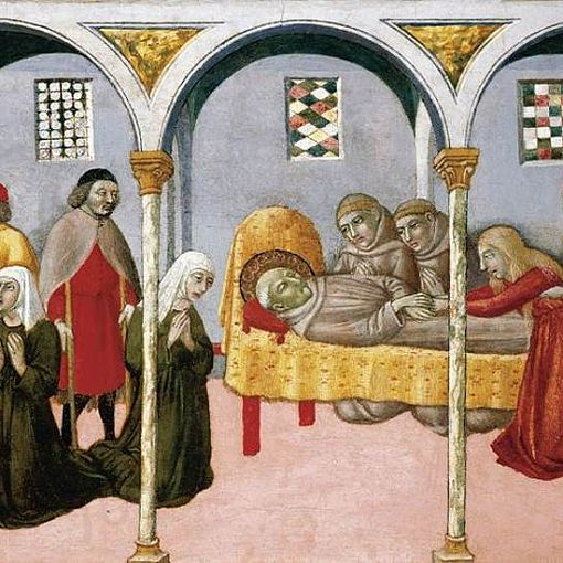 Donna Perna Being Cured on Approaching St Bernardino's Body